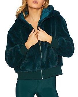 Beach Riot - Fuzzy Faux Fur Jacket