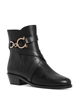 Salvatore Ferragamo - Women's Shadi Leather Ankle Boots