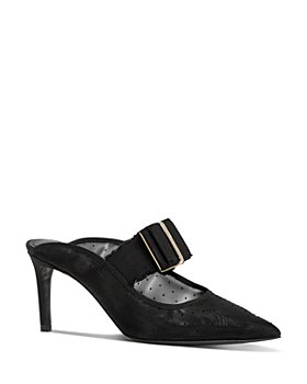 Salvatore Ferragamo - Women's Zelda High-Heel Mules