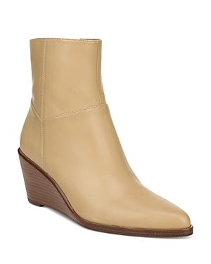 Vince Boots WOMEN'S MAVIS WEDGE HEEL BOOTIES