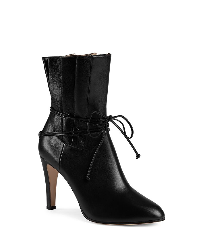 Gucci - Women's Leather Ankle Boots
