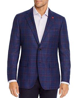 Cardinal Of Canada - Tonal Windowpane Plaid Regular Fit Sport Coat - 100% Exclusive
