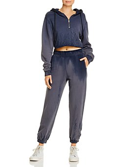 Cotton Citizen - Brooklyn Cropped Hooded Sweatshirt & Sweatpants