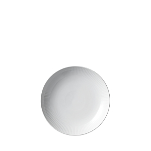 Royal Copenhagen White Fluted Shallow Bowl