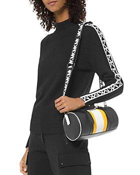 MICHAEL Michael Kors - Logo-Letter Mock-Neck Sweater