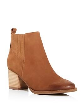 Blondo - Women's Noa Waterproof Block-Heel Booties