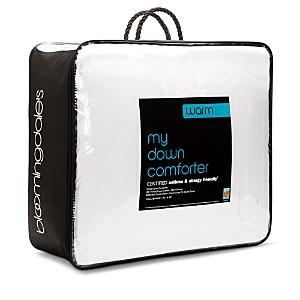Bloomingdale's My Warm Asthma & Allergy Friendly Down Comforter, Queen - 100% Exclusive