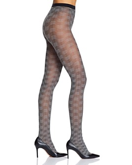 Wolford - Granular Poison Fishnet Tights