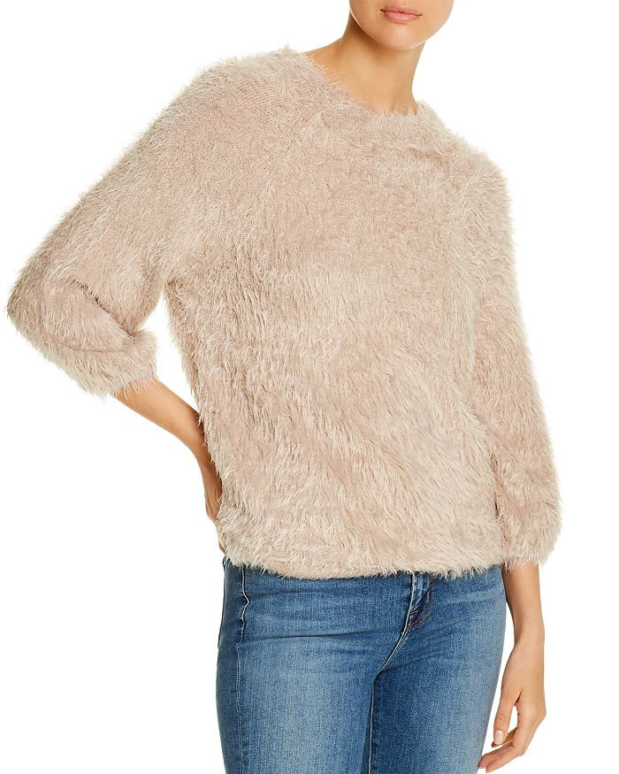 NIC and ZOE - Metallic Fuzzy Sweater