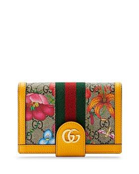 Gucci - Ophidia GG Flora Passport Case