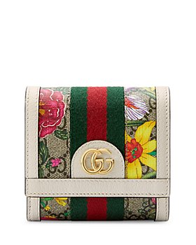 Gucci - Ophidia GG Flora Card Case Wallet
