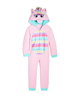 US Angels - Girls' Unicorn One-Piece Pajamas - Little Kid, Big Kid