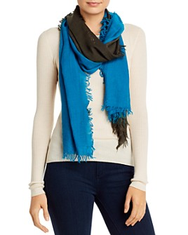 Eileen Fisher - Two-Tone Fringe Scarf