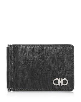 Salvatore Ferragamo - Revival Gancini Folding Leather Card Case