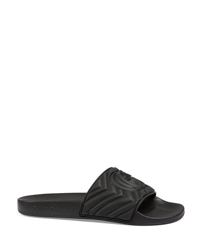 Gucci - Women's Matelasse Rubber Slides