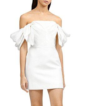 Acler - Selkin Off-the-Shoulder Draped Mini Dress