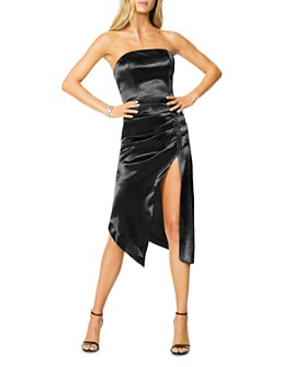 Ramy Brook - Carmen Metallic Strapless Midi Dress