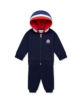 Moncler - Boys' Color-Block Hoodie & Jogger Pants Set - Baby, Little Kid
