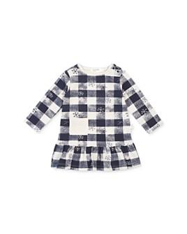 Miles Child - Girls' Checkered Snowflake Dress - Little Kid