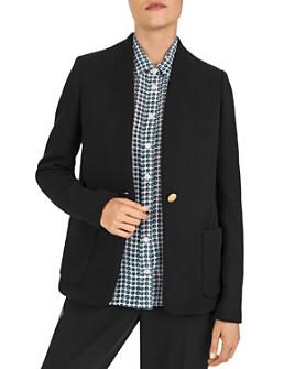 Gerard Darel - Victor Textured Wool-Blend Blazer