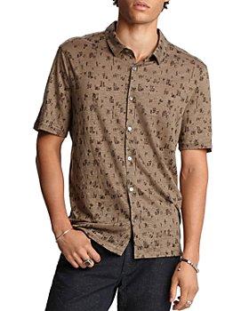 John Varvatos Collection - Regular Fit Short-Sleeve Knit Shirt