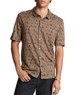 John Varvatos Collection - Regular Fit Short-Sleeve Knit Shirt