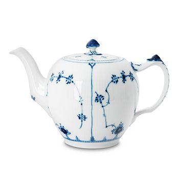 "Royal Copenhagen - ""Blue Fluted Plain"" Teapot"