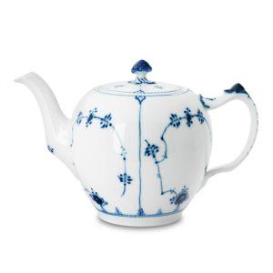 Royal Copenhagen Blue Fluted Plain Teapot