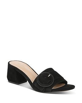 Via Spiga - Women's Flor Block-Heel Slide Sandals