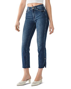 DL1961 - Mara High-Rise Ankle Straight Jeans in Roswell