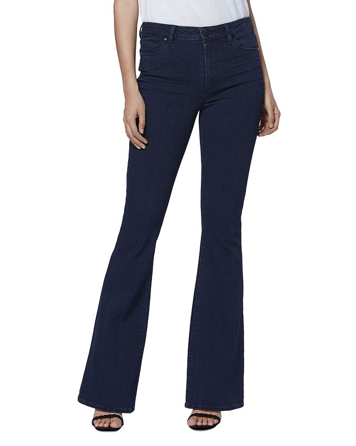 PAIGE - High Rise Bell Canyon Jeans in Timberline