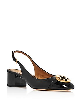 Tory Burch - Women's Minnie Cap-Toe Slingback Pumps