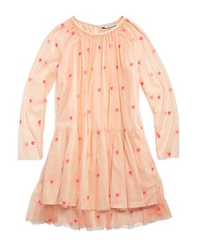 Stella McCartney - Girls' Embroidered Tulle Dress - Little Kid, Big Kid