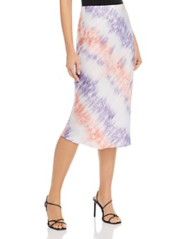 Re:Named - Tie-Dye Slip Skirt - 100% Exclusive