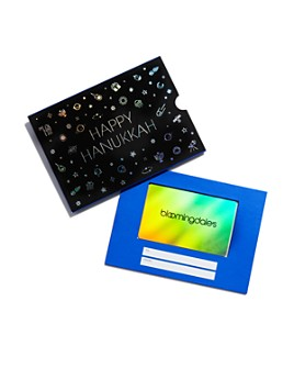 Bloomingdale's - Happy Hanukkah Gift Card