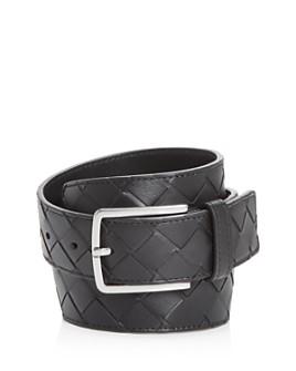 Bottega Veneta - Men's Intrecciato Leather Belt