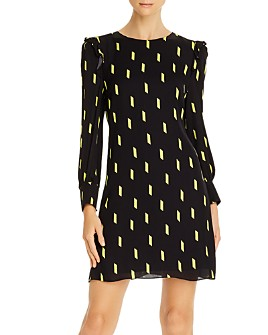 Alice and Olivia - Beatrix Puff-Sleeve Shift Dress