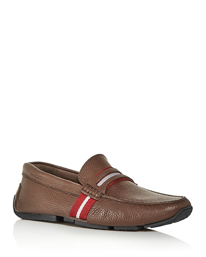 Bally - Men's Pietro Leather Moc-Toe Drivers