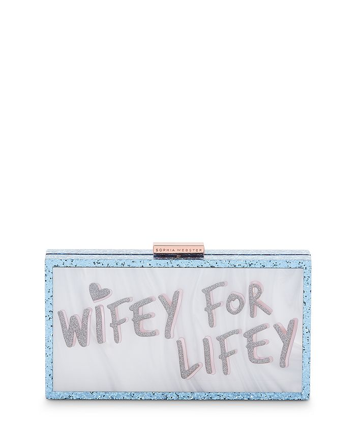 Sophia Webster - Cleo Wifey Box Clutch