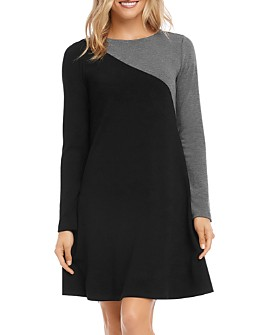 Karen Kane - A-Line Color-Block Dress
