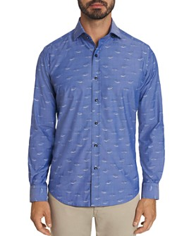 Robert Graham - Mauser Car Embroidered Classic Fit Button-Down Shirt - 100% Exclusive