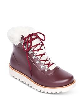 Bernardo - Women's Wiley Faux-Fur Rain Boots