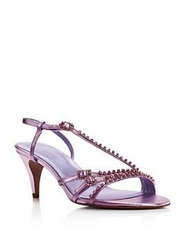 kate spade new york - Women's Makenna Crystal-Embellished High-Heel Sandals