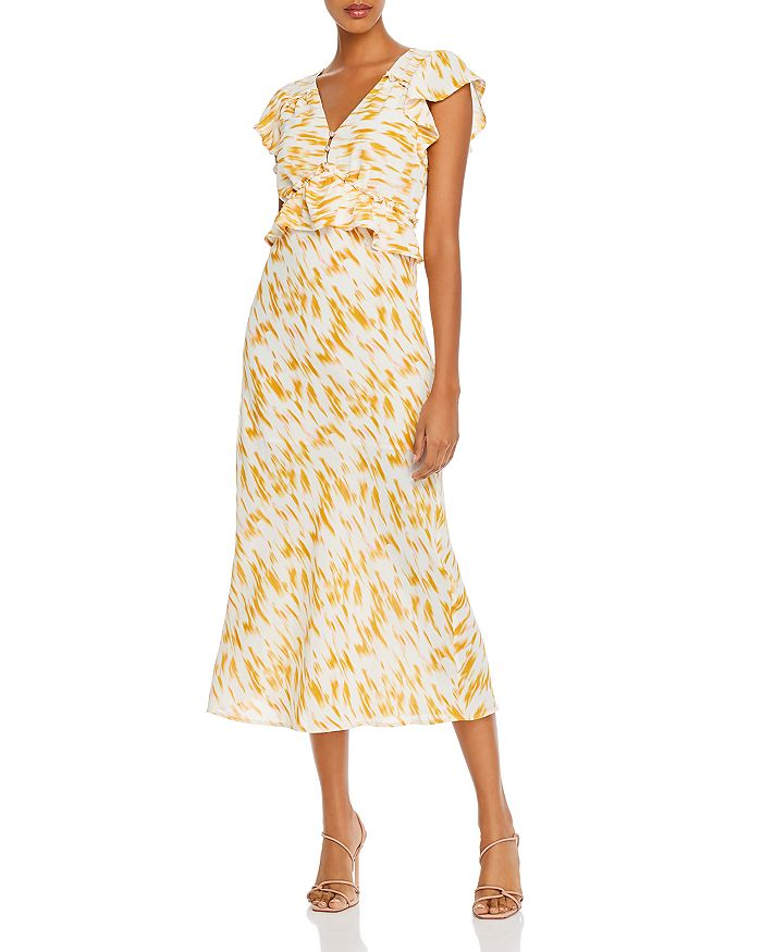 Rahi - Pri Marble Print Midi Dress
