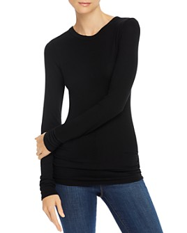 Enza Costa - Ribbed Long-Sleeve Top