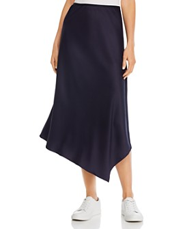 FRENCH CONNECTION - Ezmay Drape Asymmetric Skirt