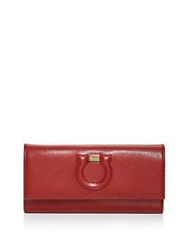 Salvatore Ferragamo - City Leather Continental Wallet