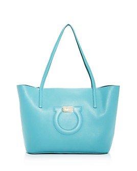 Salvatore Ferragamo - Gancini Medium Leather City Tote