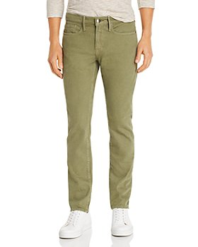 FRAME - L'Homme Slim Fit Jeans in Moss
