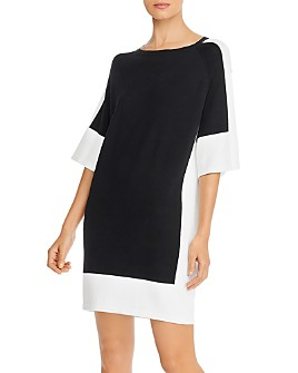 Marella - Fida Color-Blocked Knit Dress